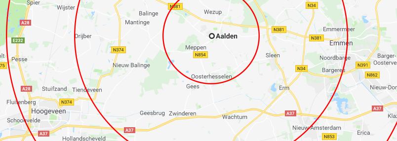 Aalden Radius