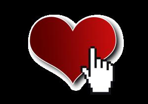 hart liefde klik