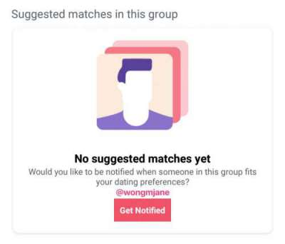 suggested matches