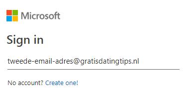 tweede email adres