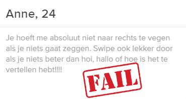 online dating Fail verhalen