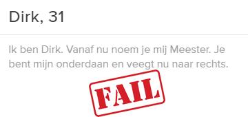 profiel fail