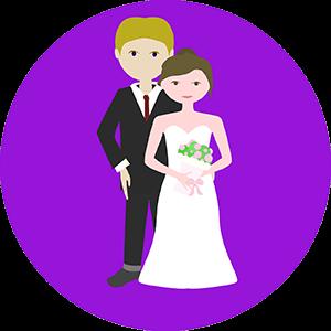 trouwen man vrouw