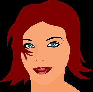 vrouw ogen gezicht