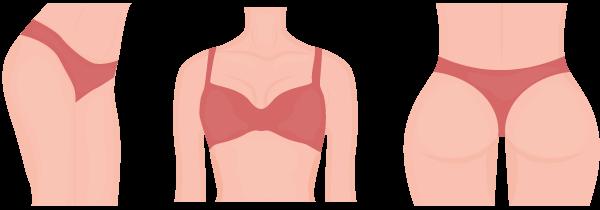 erogene zone torso