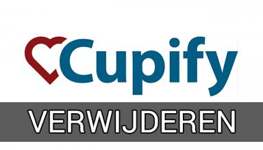cupify verwijderen