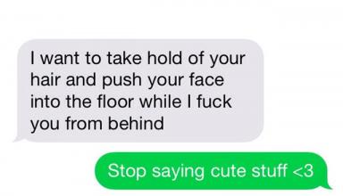 sexting voorbeeld