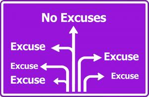 excuses liegen
