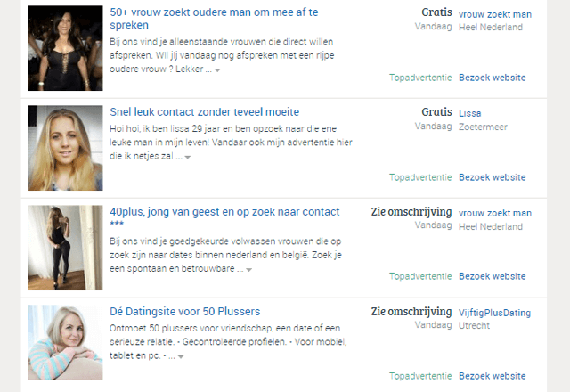 gratis dating site relatieklik nl