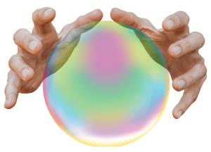 toekomst glazen bol