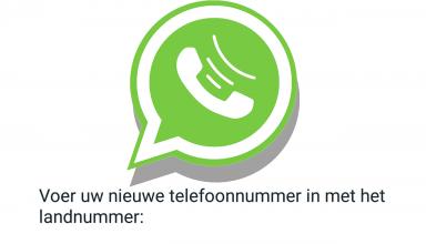 Whatsapp zonder nummer