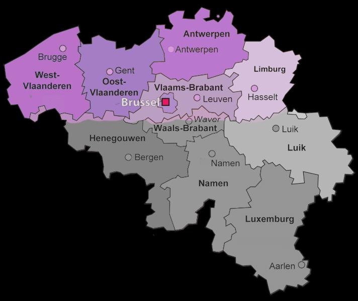 Belgische provincies