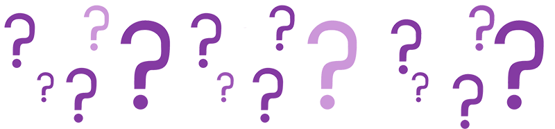 vraagtekens vragen