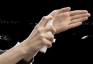 hand schoon