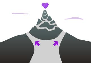liefde berg