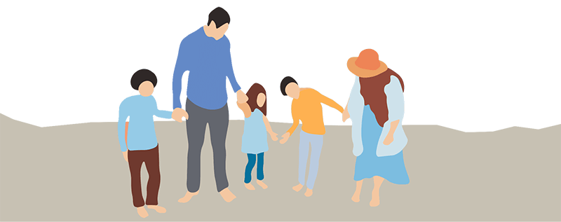 gezin familie