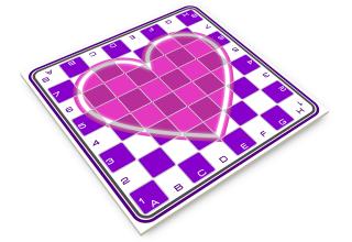 hart schaakbord