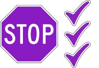 stop checklist