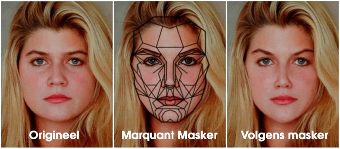 phi mask vrouw