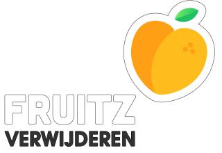 fruitz verwijderen