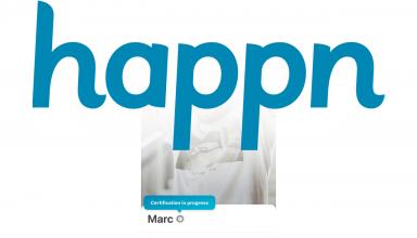 happn blue