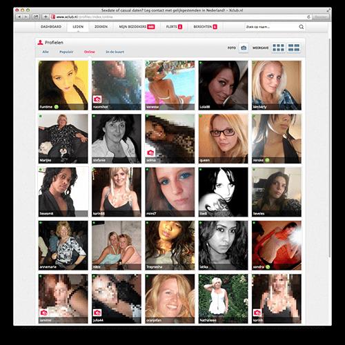 screenshot profiles xclub