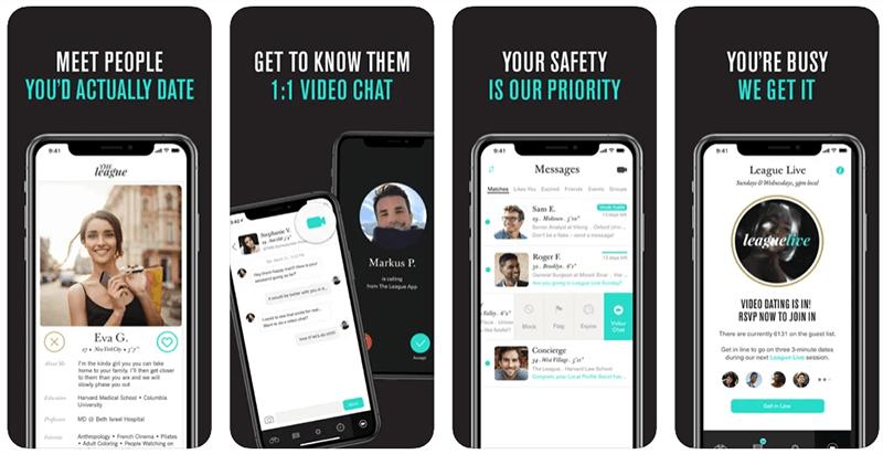 the league app