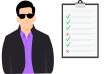 checklist man