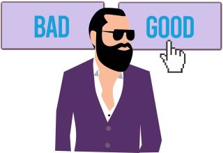 goed slecht man
