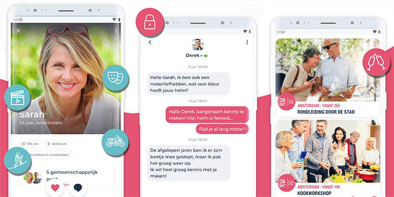 ourtime chat app