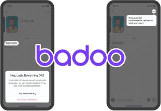 badoo rude message